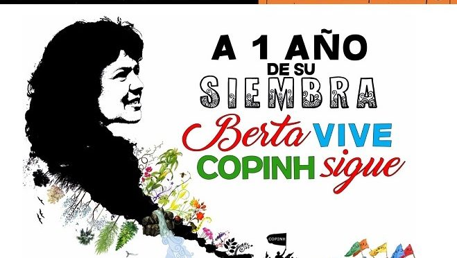 GIOVEDI'2 MARZO  ALL'ESPACE POPULAIRE : DOCUMENTARIO SU BERTA CACERES,MILITANTE AMBIENTALISTA ASSASSINATA IN HONDURAS.