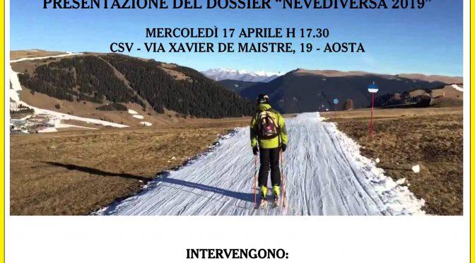 LEGAMBIENTE PRESENTA IL DOSSIER NEVEDIVERSA 2019 SPORT INVERNALI E CAMBIAMENTO CLIMATICO